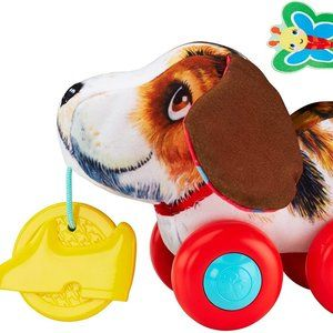 Fisher Price Soft Lil Snoopy Pull Along Toy 3m+